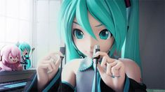 Which vocaloid are you? Ps I got HATSUNE MIKU the best vocaloid ever! ( the one in the gif)
