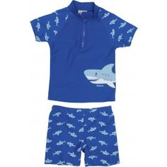 Playshoes UV Swim Set Kids- Shark