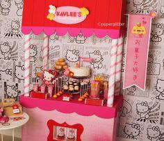 fREE Sweet Shoppe Art Panels + partial tutorial