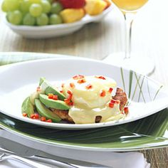 ... Tropical Dishes | Caribbean Crab Cakes Benedict | CoastalLiving.com