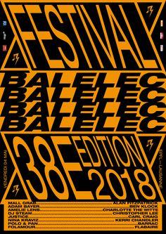 FESTIVAL Balélec 2018 on Behance