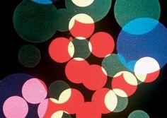 Still from Oskar Fischinger's 35mm film Circles (1933)