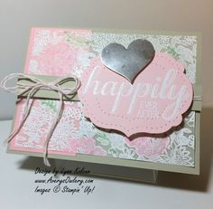 Stampin Up Something Lacy Big News AverysOwery.com