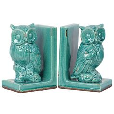 Found it at Wayfair - Stoneware Owl Bookend