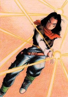 Android 17 from DBZ. Android 17 in Action Goku, Dbz Androids, Martial, Gatomon, Dragon Ball Z Shirt, Z Wallpaper, Evil Villains, Anime Comics, Akira
