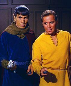 Star Trek: Spock and Kirk. Errand of Mercy. Star Trek 1966, Star Trek Tv, Star Wars, Herbert Lom, Spock And Kirk, Star Trek Captains, Star Trek Images, Star Trek Original Series, Star Trek Characters