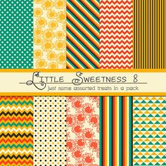 45 FREE Digital Paper and Pattern Packs