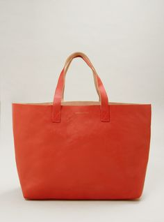 leather beach tote.