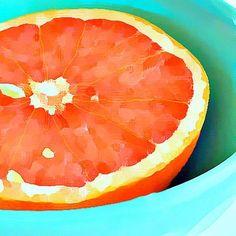 Feliz fin de semana!  GrapeFast por @xchangeartstudio en #señorcool  #pomelo #grapefruit #arte #pintura #artistas #artecool #verano #inspirador #refrescannte  #instart #beautiful #naranja