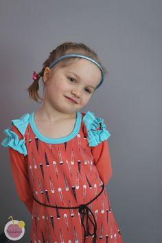 red arrow dress for kids