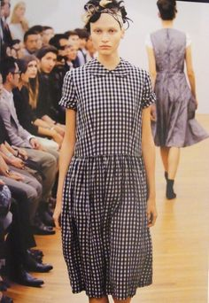 Gingham on the runway --- who would have thunk it?!!