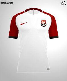 Designer recria camisa do Flamengo nos padrões Nike Fla Hoje Flamengo Hoje 62cdbc935514f