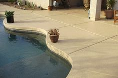 acrylic lace pool deck colors | portfolio-acrylic-lace | Imagine Architectural Concrete