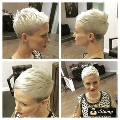 Who wants to see Really Cool Asymmetrical Pixie Cut Pics that we've collected? In our gallery you will find the latest pixie haircut ideas to make you look. Short Pixie Haircuts, Cute Hairstyles For Short Hair, Pixie Hairstyles, Short Hair Cuts, Curly Hair Styles, Hairstyles 2018, Easy Hairstyles, Pixie Cut Styles, Short Styles