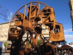 Zaragoza - Noria de madera para niños