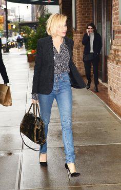 Sienna Miller's Polished Denim