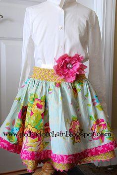 adorable girl's skirt