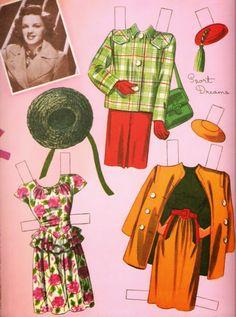 Judy Garland reference colpy of 1945 Whitman #996 book - Bobe Green - Picasa Webalbum Judy Garland Paper Dolls ...........•❤° Nims °❤•