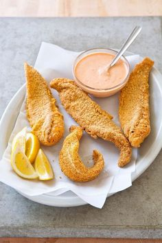 Fried Catfish with Comeback Sauce