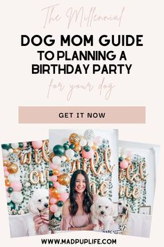 The Millennial Dog Mom Guide To Planning A Birthday Party For Your Dog Dog Birthday Gift, Puppy Birthday Parties, Birthday Ideas, Birthday Cake, Dog Mom Gifts, Dog Lover Gifts, Dog Lovers, Funny Dog Memes, Dog Activities