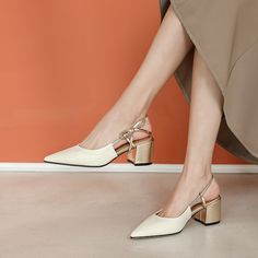 The post Chiko Angel Pointed Toe Block Heels Pumps appeared first on Chiko Shoes. Mid Heel Shoes, Slingback Shoes, Shoes Heels Pumps, High Heel, Pointed Toe Block Heel, Block Heels, Comfortable Work Shoes, Jazz Shoes, Mocassins