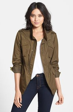 BCBGeneration Studded High/Low Anorak--love this!!!