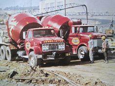 GMC MIXERS Big Rig Trucks, Gm Trucks, Chevy Trucks, Ford Sport Trac, Cement Mixer Truck, Medium Duty Trucks, Equipment Trailers, Old Lorries, Concrete Mixers