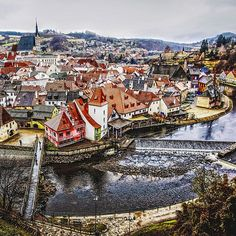 There more to the Cezch Republic than just Prague. On your next trip, set aside time to explore smaller villages like Cesky Krumlov. Trust us you won't be disappointed. Photo courtesy of imthepjenrinal on Instagram.
