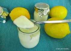 A falta de Lexatín... buenas son tortas: Yogur de limón con o sin yogurtera