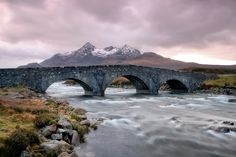 Under the Arches at Sligachan River.
