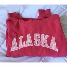 Pink Alaska Sweatshirt Beautiful color and so comfy! Gently worn. Jackets & Coats