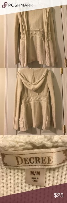 Decree cardigan Warm Sweaters Cardigans