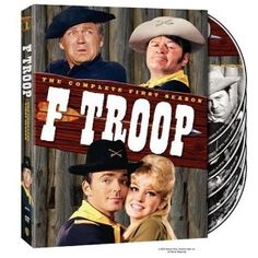 F-Troop debuted in 1965 and lasted but two seasons