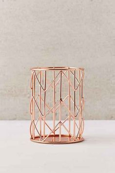 Shop Rose Gold Pencil Cup at Urban Outfitters today.