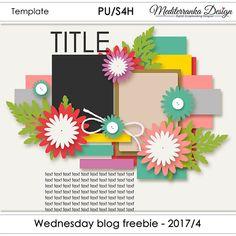 Mediterranka design: WINNER + WEDNESDAY BLOG FREEBIE - 2017/4