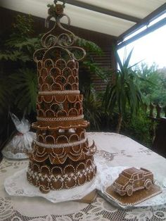 Grillázs Mézeskalács Baja fényképe. Cukor, Croquembouche, Designer Cakes, Cake Designs, Amazing Cakes, Desserts, Wedding, Food, Sprouts