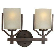 Forte Lighting 5401-02-32 2 Light Bathroom Light