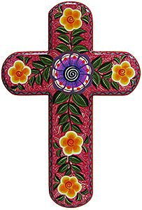 One of Mexico's oldest religious traditions, these charming wooden crosses have long been considered a cornerstone of Mexican folk art.