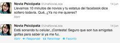 """Twitter mexico """"La novia psicópata"""""""