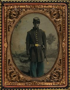 Civil War Photography Exhibit at California African American Museum Is a Tribute to Black Soldiers - Los Angeles - Arts - Public Spectacle