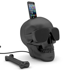 Jarre AeroSkull HD iPhone speaker dock ~ Selfridges
