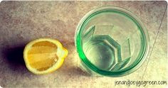 My Favourite Uses for Essential Oils: essential oil lemon substitute for real lemons in morning detox water