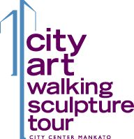 CityArt Walking Sculpture Tour  See and enjoy art out in the open at the CityArt Walking Sculpture Tour.  You will find twenty five sculptures from artists around the world in mediums ranging from cast iron to molded plastic throughout City Center Mankato. Pick up a tour map where you see a CityArt banner and be part of choosing The People's Choice Award.