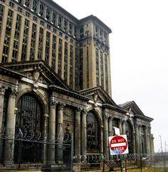 Detroit, Michigan Central Station