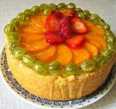 Amaretto-Quark-Kuchen mit weißer Schokolade - Amaretto Quark Cake with White Chocolate
