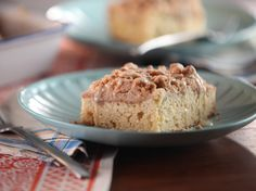 Get this all-star, easy-to-follow Orange Spiced Crumb Cake recipe from Bobby Flay.