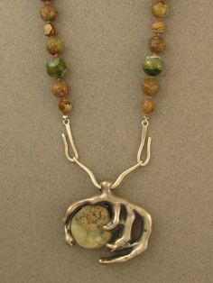 The Jewelry of Ahlene Welsh - Cast Pendant