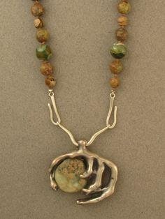 cast pendant, by Ahlene Welsh