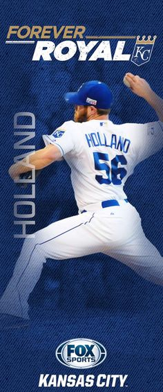 """Every season the Kansas City Royals and FOX Sports Kansas City hang banners at Kauffman Stadium and on streetpoles in the Country Club Plaza. Here are the 2015 """"Forever Royal"""" banners -- including banners for three key newcomers to the 2015 team. Pole Banners, Sporting Kansas City, City Pride, Royals Baseball, Fox Sports, Professional Football, Kansas City Royals, Seattle Mariners, Champs"""
