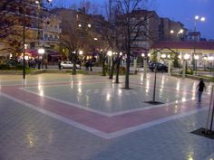 Florina Square - Ancient Florina - City of Flowers - - 17th Century, Beautiful Homes, Sailing, Macedonia Greece, Sidewalk, City, Places, Landscapes, Flowers